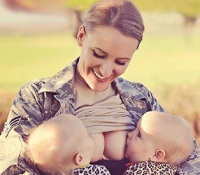 Breastfeeding In Uniform